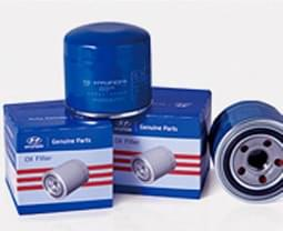 Genuine Parts Oil Filter on box