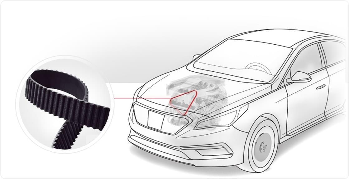 Genuine Parts Timing Belt