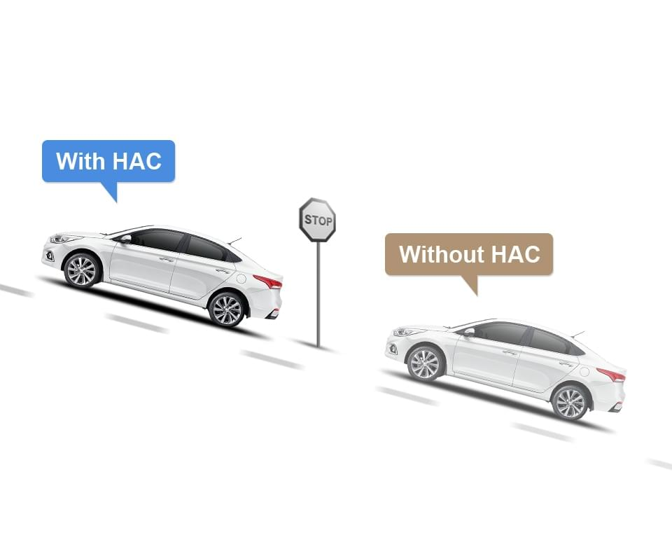 Hill-start Assist Control (HAC) image
