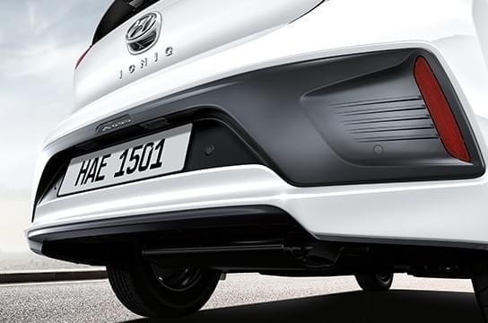 IONIQ hybrid  rear bumper