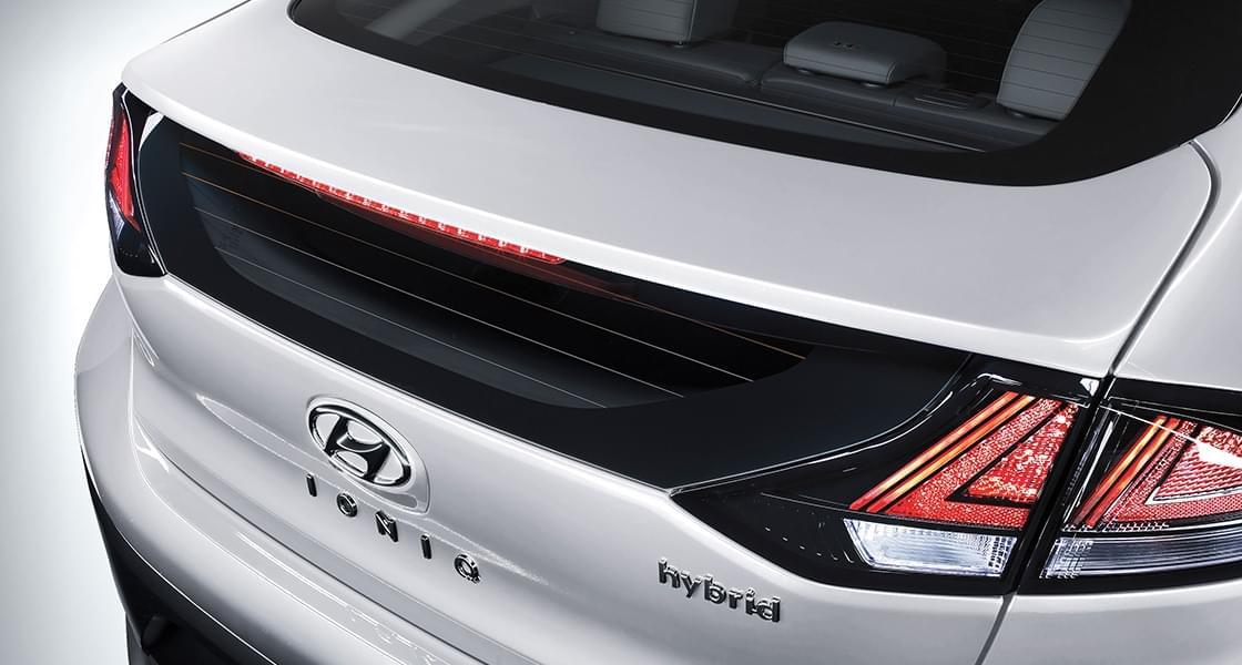 IONIQ hybrid rear spoiler