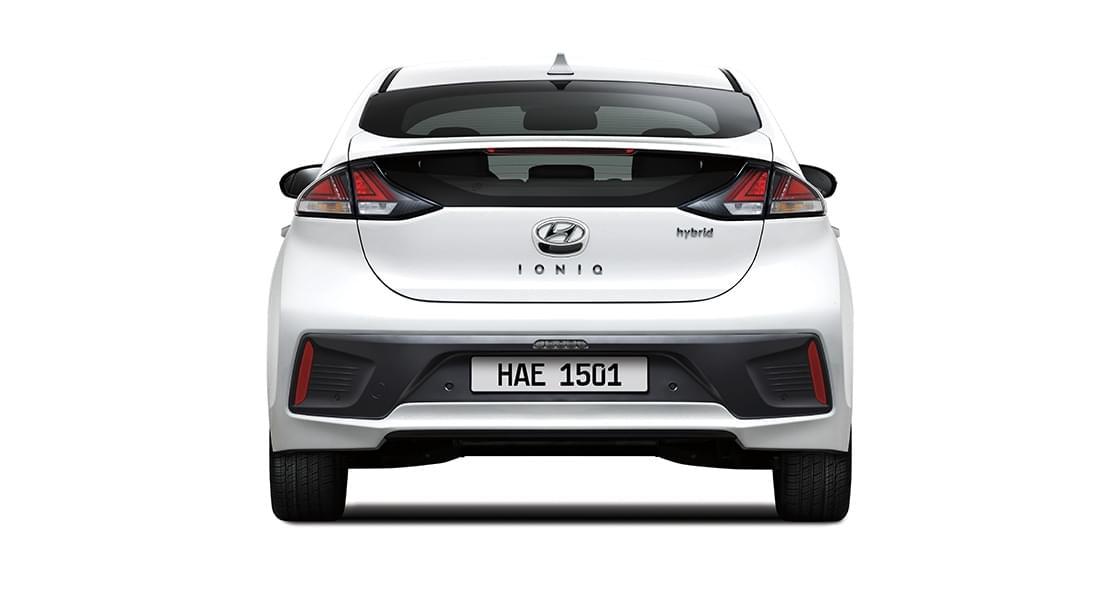 IONIQ hybrid rear view
