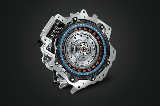 IONIQ hybrid electric motor