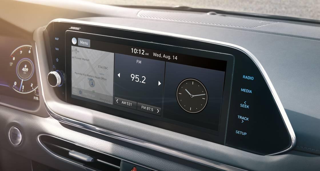 10.25 inch Navigation