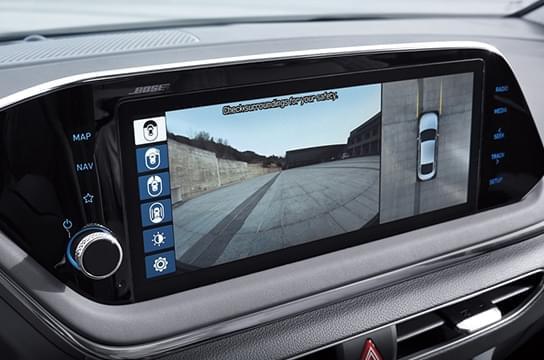 Sonata Surround view monitor (SVM)